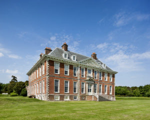 The south front of the main house at Uppark House and Garden, West Sussex