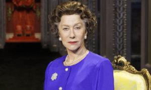 Helen Mirren as Queen Elizabeth II, courtesy of The Guardian