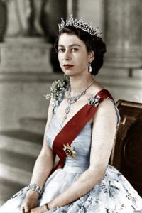 Queen Elizabeth II, courtesy of Huffington Post