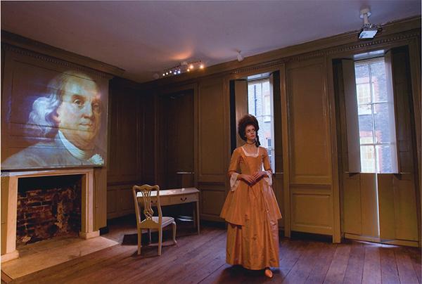 Royal Oak visitors enjoy 1/2 price admission at the Ben Franklin House