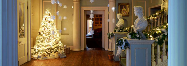 The Vyne, decked out for Christmas.