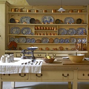 The kitchen at Uppark, West Sussex