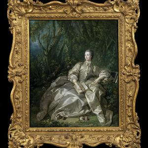 Portrait of Madame de Pompadour, by Francois Boucher, 1758