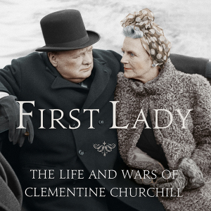 The cover of Sonia Purnell's book on Clementine Churchill