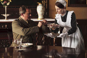 Lord Grantham wouldn't have often been in the presence of housekeepers. Image courtesy of The Mirror.