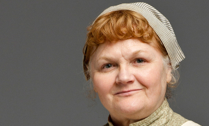 Mrs. Patmore. Image courtesy of PBS.