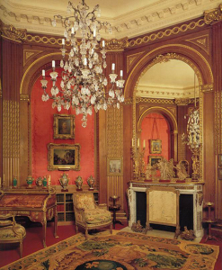 """If you're looking for furniture """"bling,"""" Lisa White recommends Waddesdon Manor, Buckinghamshire"""