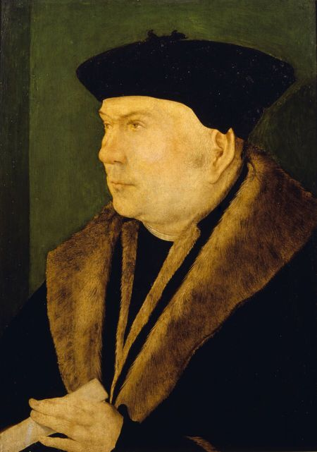 Anglo-Netherlandish School, Thomas Cromwell, Earl of Essex, 1530, at Petworth, in the collection of the 3rd Earl of Egremont by 1835, accepted in lieu of inheritance tax and allocated to the National Trust in 1956, NT 486204