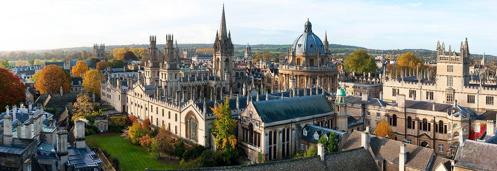 Oxford, courtesyof Oxford University