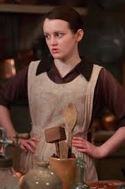 Daisy Mason of TV's Downton Abbey: opinionated, outspoken and ambitious