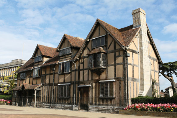 Shakespeare's Birthplace, courtesy of Albion