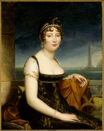 Caroline-Marie Bonaparte, Caroline Murat, Queen of Naples (1782-1839) by Louis Ducis (Versailles 1775 ¿ Paris 1847)