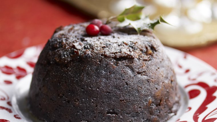 Christmas pudding National Trust Images/William Shaw