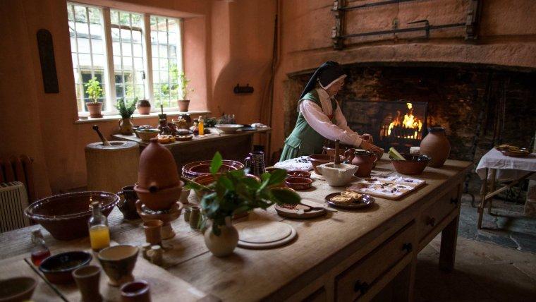 Preparing a Christmas feast at Buckland Abbey Grant Wyness
