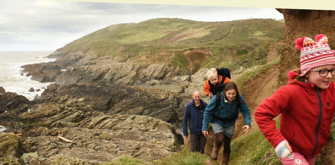 Baggy Point Devon, National Trust Images John Millar