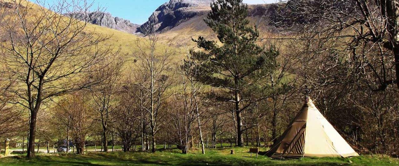 Nordic tipi National Trust/ Richard Jenkinson