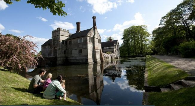 A moat, bridge and gatehouse make for a memorable approach to Baddesley Clinton National Trust Images / John Millar