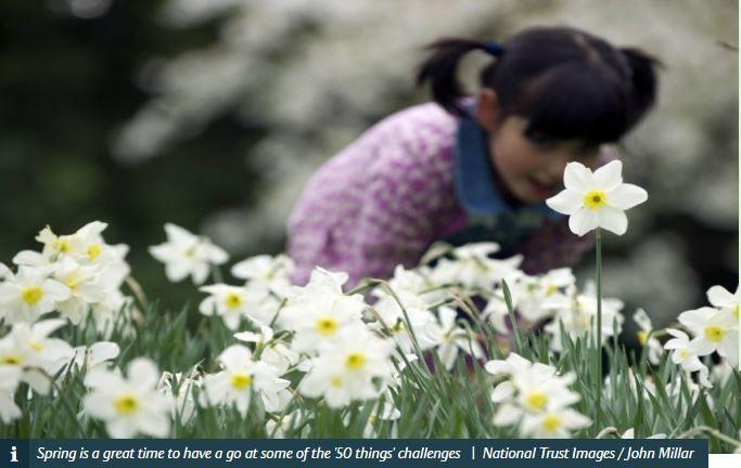 50 things springtime
