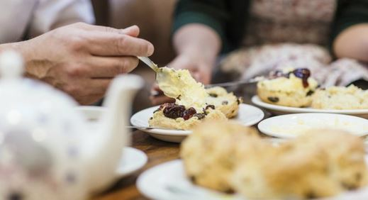 Try homemade scones and other traditional delights National Trust / Jason Ingram