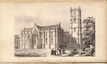 Fountains Abbey in the Olden Time by John Richard Walbran (1841)