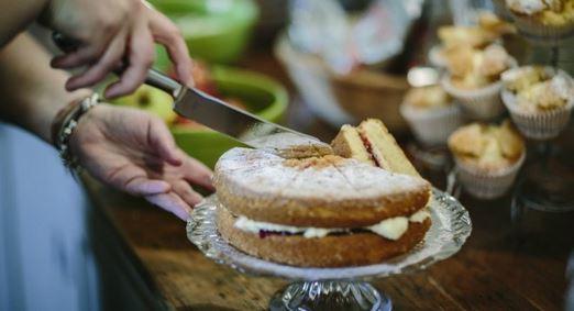 Enjoy afternoon tea in the vintage kitchen National Trust / Steven Barber