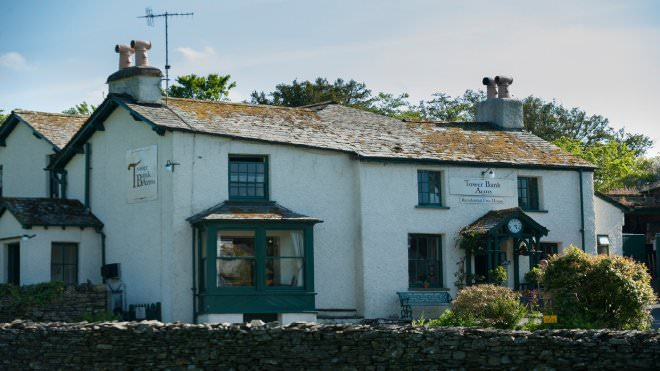 Tower Banks Arms next door to Beatrix Potter's home in Cumbria National Trust
