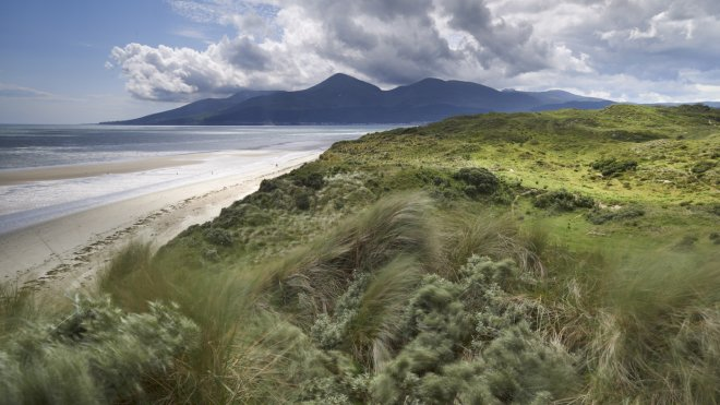 View to the Mourne Mountains from Murlough National Nature Reserve National Trust / Joe Cornish