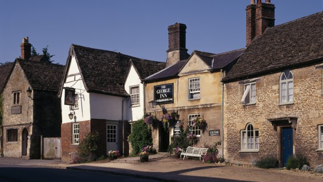 The George Inn, Lacock, is the perfect place to begin or end a walk around the village National Trust Images/ Rupert Truman