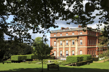 The house and garden in May at Clandon Park, Surrey. ©National Trust Images/Beata Moore
