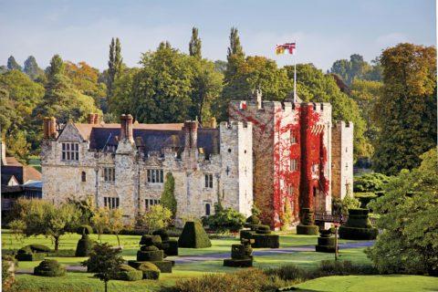 Hever Castle, autumn ©Hever Castle & Gardens