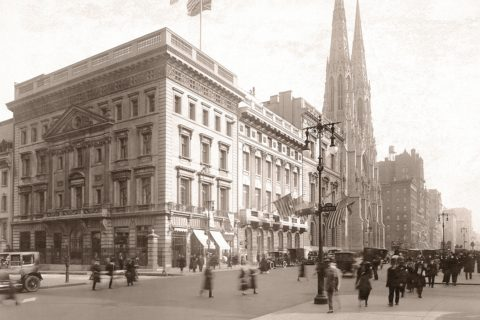The Cartier Mansion in 1920