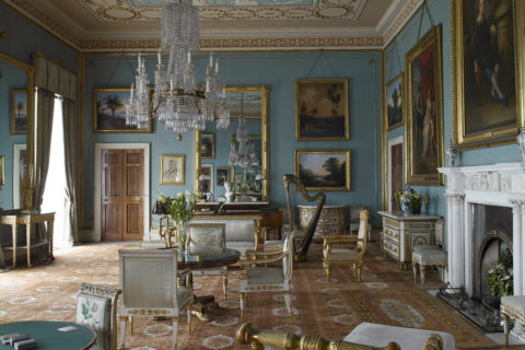 The Drawing Room, Attingham Park, Shropshire. ©National Trust Images/Paul Baker