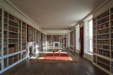 The Library at St Giles House © 2018 by Justin Barton
