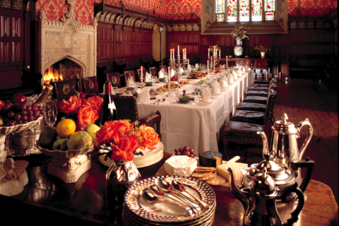 The Pugin Banqueting Hall, Lismore Castle