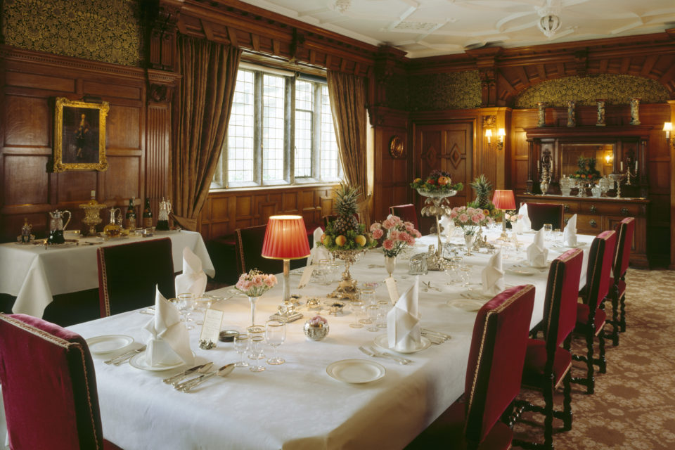 The Victorian dining room at Lanhydrock, Cornwall ©National Trust Images Andreas von Einsiedel