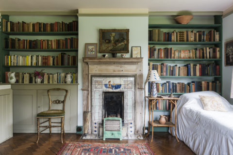 Virginia Woolf's bedroom at Monk's House, East Sussex ©National Trust Images Andreas von Einsiedel