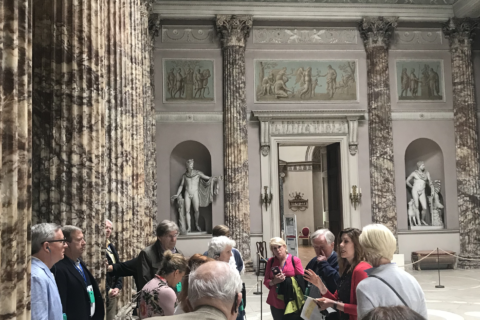 Private tour at Kedleston Hall, Derbyshire, 2018