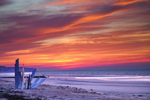 Omaha Beach Hugh Whitchurch