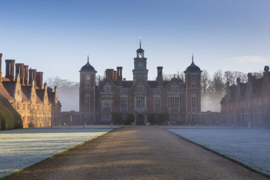 A frosty April morning at Blickling Estate, Norfolk. ©National Trust Images/Chris Lacey