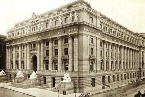 Alexander Hamilton U.S. Customs House in 1912
