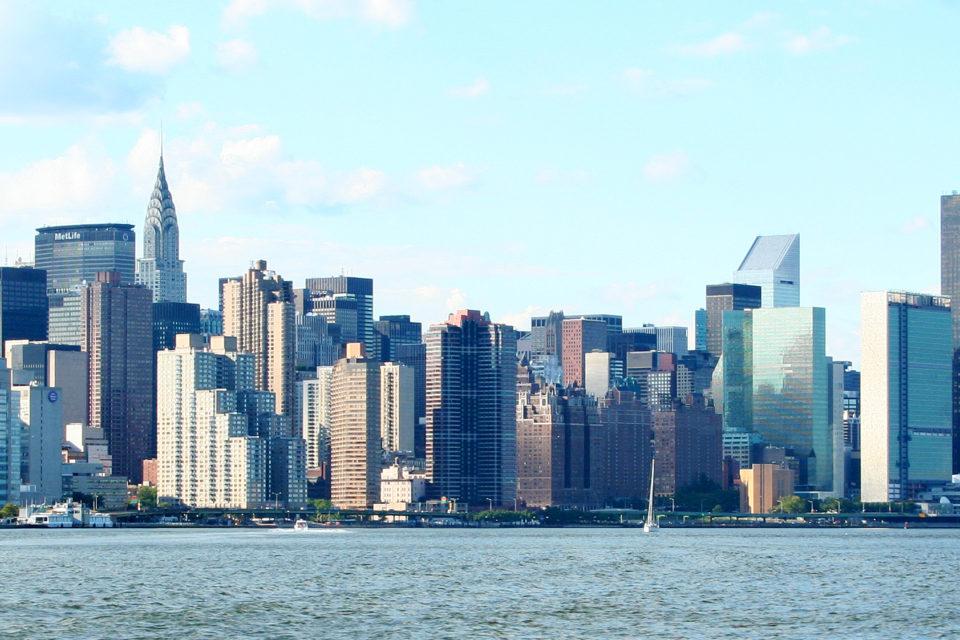 Manhattan Skyline, Flickr Peter Zoon