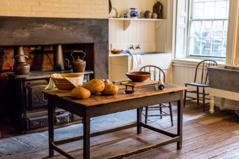 Kitchen. Merchant's House Museum. ©Touhey