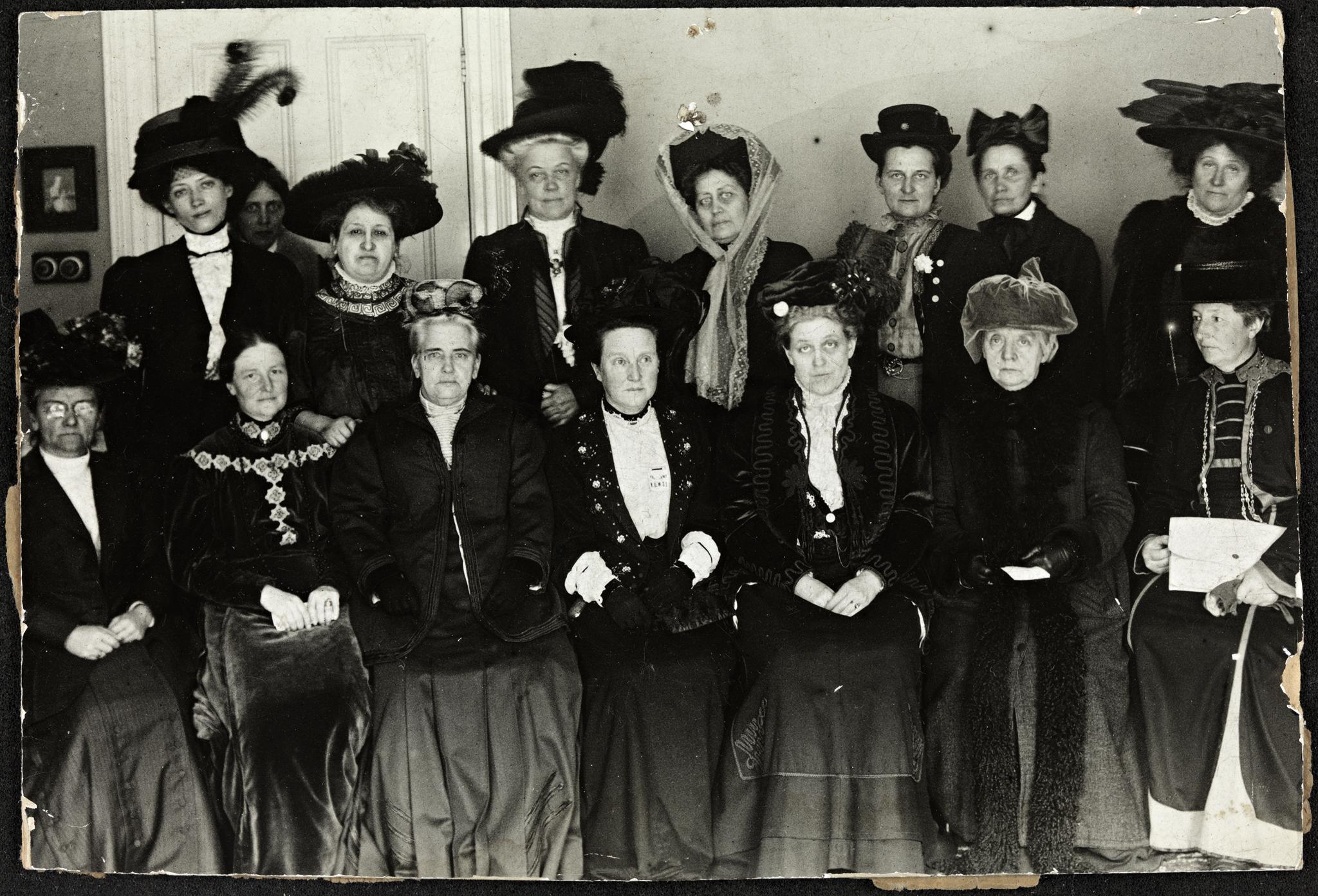 Suffrage Alliance Congress, London, 1909