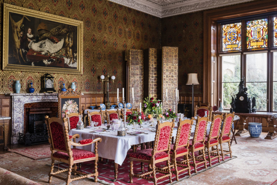 The Dining Room at Charlecote Park, Warwickshire