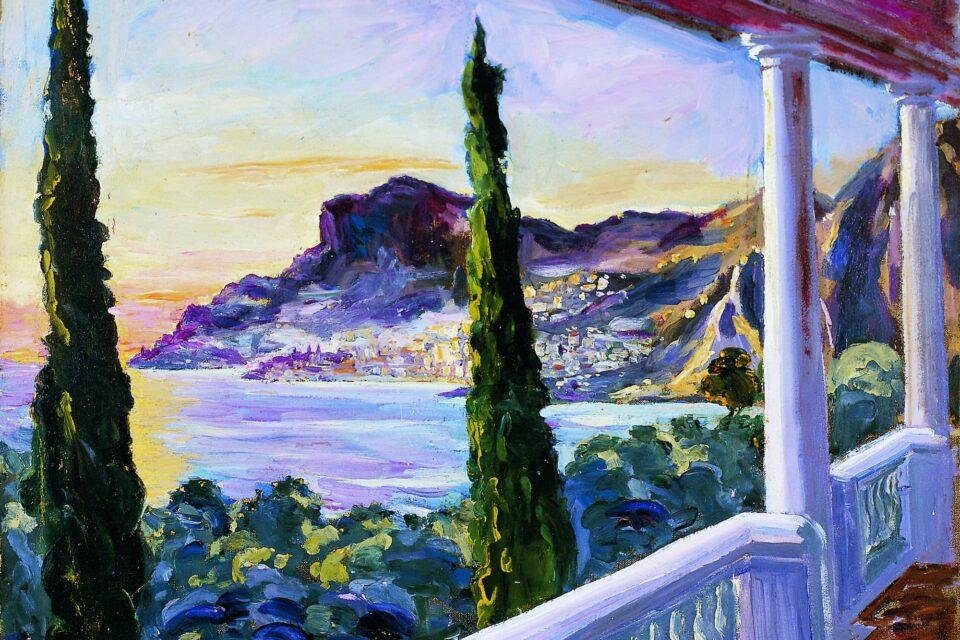 Winston Churchill, View of Monte Carlo and Monaco, circa 1930 © Churchill Heritage, Courtesy of Curtis Brown, London