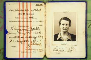 Virginia Hall's Estonian Drivers License. The Central Intelligence Agency © 2013 John Makely / NBC News