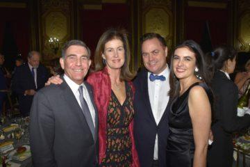 David Nathans, Lady Henrietta Spencer-Churchill, Peter Lyden, Sarah Magness ©Annie Watt