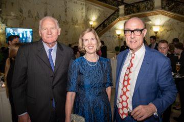 William Samuelson, Susan Samuelson, Sir David Cannadine ©Annie Watt