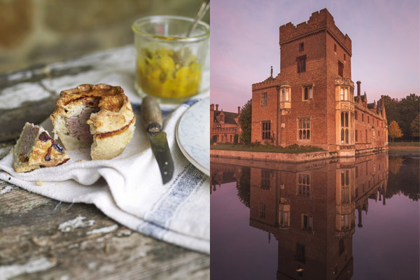 This recipe comes from the kitchens at Oxburgh Hall in