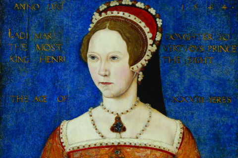 Master John, Queen Mary I, 1544 ©National Portrait Gallery, London